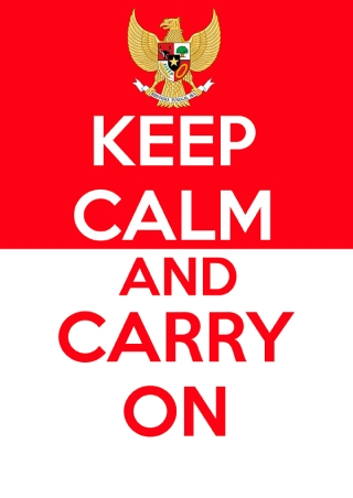 keep calm Indonesia